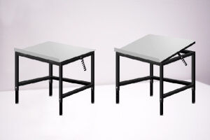 Table with tilting table top