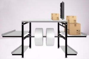 Auxiliary packing table