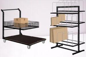Trolleys and stands
