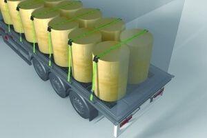 Cargo rubber mats