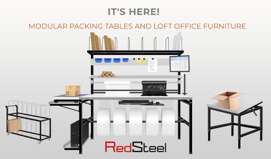 RedSteel Modular Tables